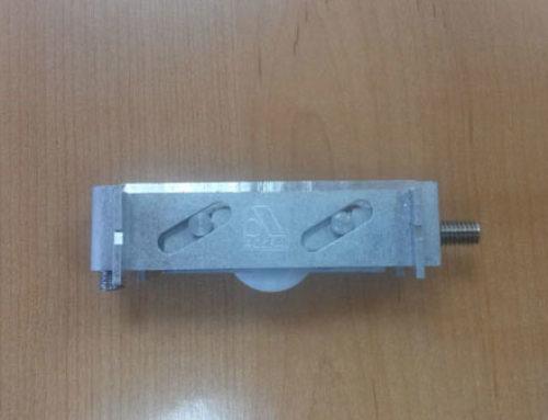 Nouvelle roulette aluminium