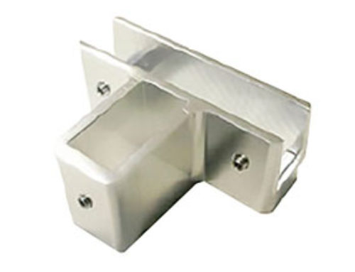 Fixed Glass Support 4020 made of Aluminium Extruded – Ref. 0671