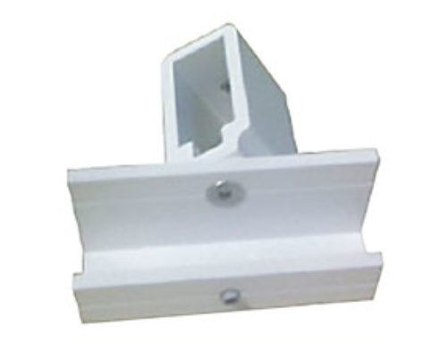 Adjustable Glass Support 4020 made of Aluminium Extruded – Ref. 0671- REG