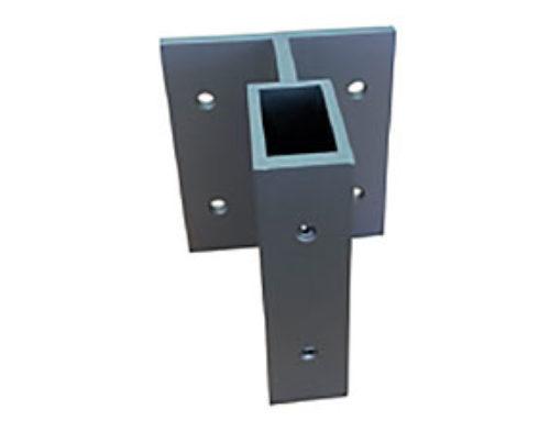 Soporte de Muro 4020 Aluminio Extruido – Ref. 0673
